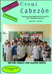 Cronicabezon- Revista Escolar- 2013