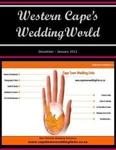 Western Cape's Wedding World - Dec-Jan2012