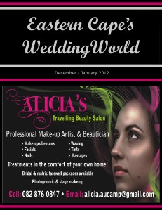 Eastern Cape's Wedding World - Dec-Jan2012