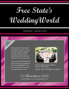 Free State's Wedding World - Dec-Jan2012