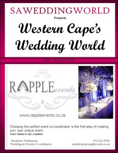 SA Wedding World Western Cape\'s Wedding World