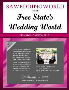 SA Wedding World_Sept_Oct_2012 Free State\\\'s Wedding World - Nov-Dec2012