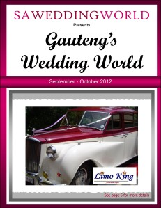 Gauteng\'s Wedding World - Sept/Oct 2012