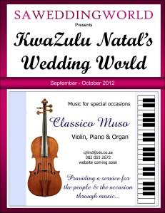 KwaZulu Natal\'s Wedding World - Sept/Oct 2012