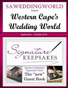Western Cape\'s Wedding World - Sept/Oct 2012