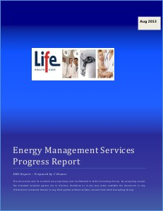 Life Healthcare Savings Report - August 2013 1