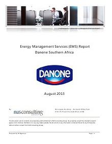 Danone SA - August 2013
