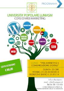 LUNIASM Programma corso Web