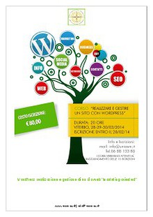 CORSO WORDPRESS VITERBO