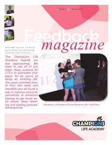 Feedback Magazine 8 - Summer Magazine