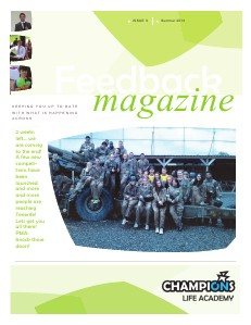Feedback Magazine 9 - Summer 2013