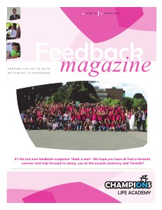Feedback Magazine 10 - Summer 2013