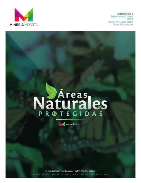ARTÍCULOS ALEJANDRO MANZANO Áreas Naturales