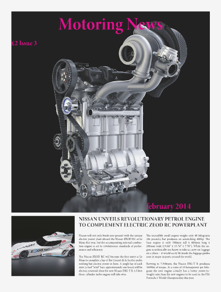 Motoring News Issue 3 February 2014