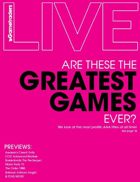 Live Magazine September 2014 Volume 9/2014