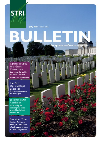 STRI (Sports Turf Research Institute) Bulletin July 2014