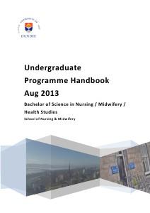 PostQualifying Handbooks BSc Handbook 2013
