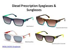 Diesel Prescription Eyeglasses & Sunglasses