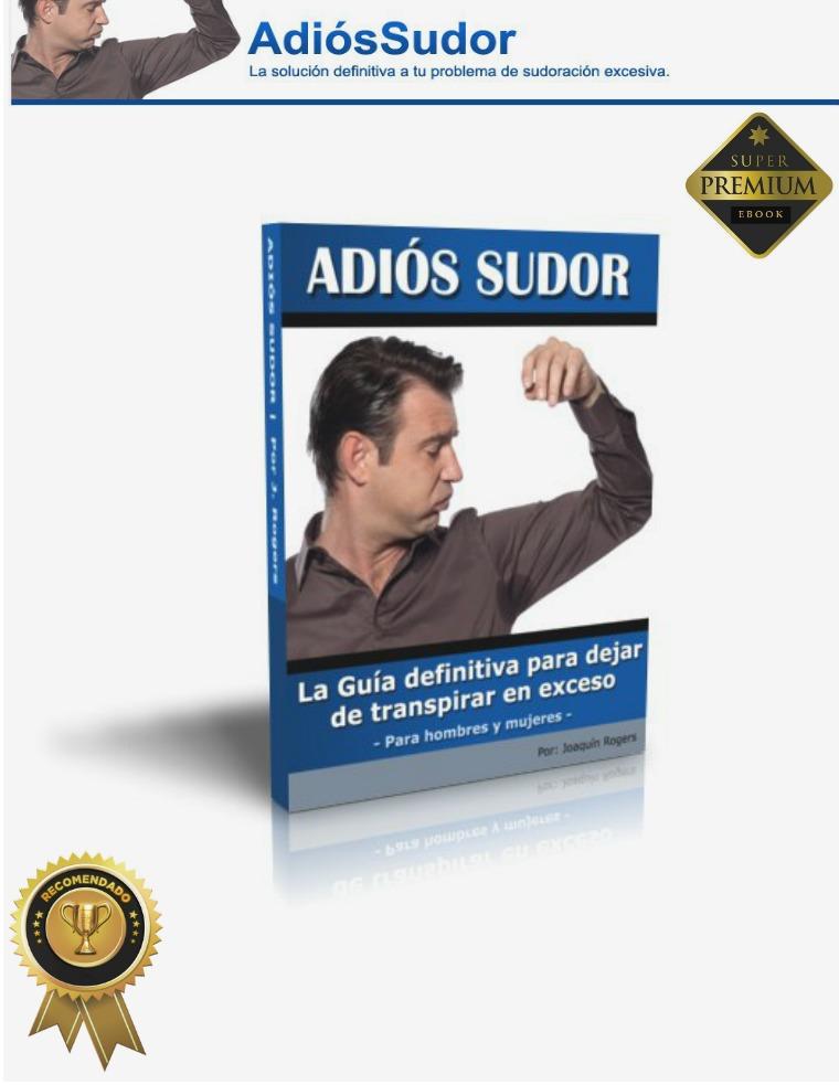 ADIOS SUDOR PDF LIBRO COMPLETO JOAQUIN ROGERS DESCARGAR 2018