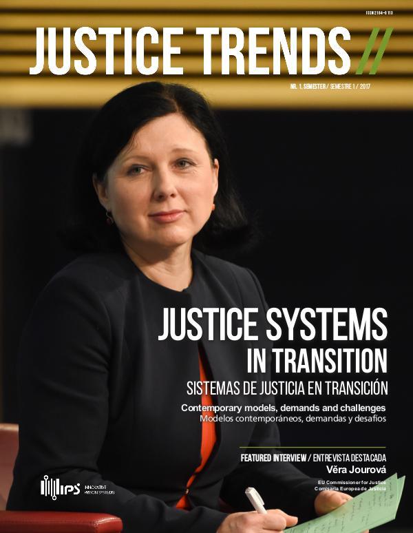 JUSTICE TRENDS JUSTICE TRENDS Nr. 1 | June 2017
