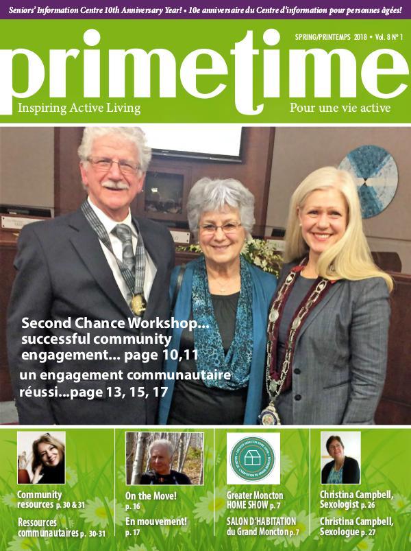 PrimeTime Magazine PrimeTime Spring 2018