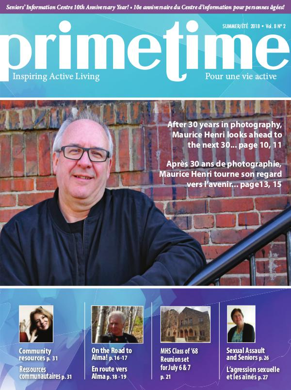 PrimeTime Magazine PrimeTime Summer 2018