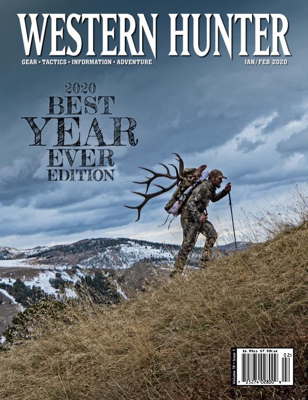 Western Hunter Magazine January/February 2020 #73