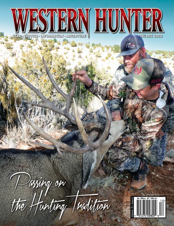 Western Hunter Magazine November/December Nov/Dec 2020 #79