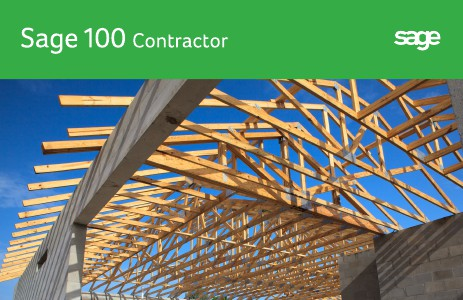 Sage 100 Contractor Product Book Sage 100 Contractor Product Book