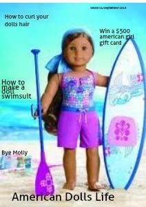 American Girl Life September 2013