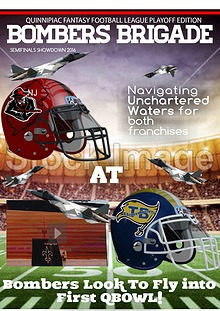 BOMBERS BRIGADE GAMEDAY MAGAZINE