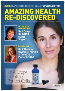 Amazing Health Re-Discovered. September 2013