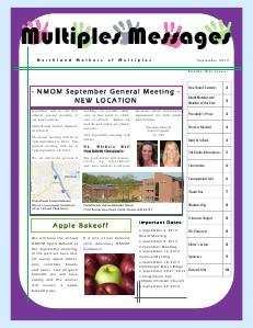 Multiples Messages September 2013