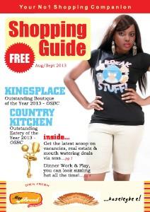 Shopping Guide August/September 2013