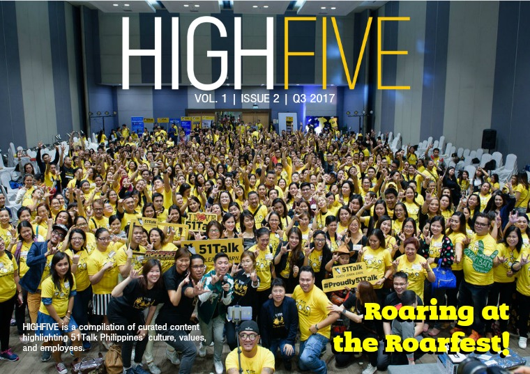 HIGH FIVE - Vol. 1, Issue 2 Issue 2 Volume 1