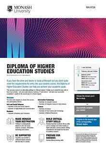 Diploma of Higher Education Studies