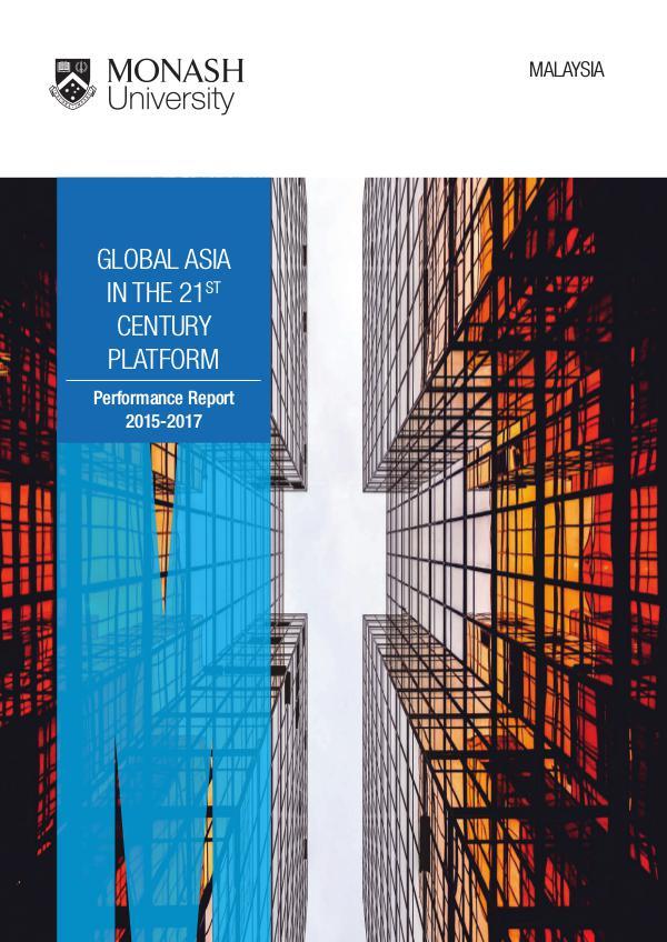 Research Platforms' Performance Reports GA21 2015-2017