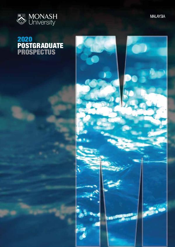 Postgraduate Prospectus 2020 (Mar 2020)