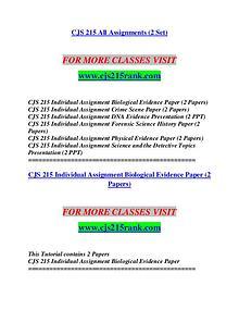 CJS 215 RANK Imagine Your Future /cjs215rank.com