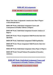 BSHS 407 RANK Keep Learning /bshs407rank.com