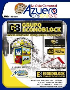 Guia Comercial Azuero Agosto 2013 Agosto 2013