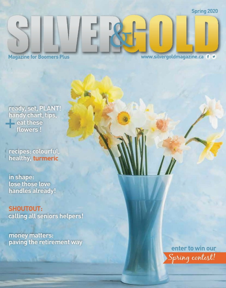Silver and Gold Magazine Spring 2020