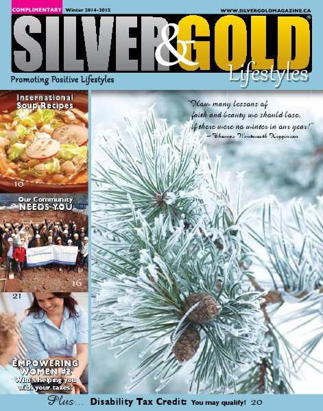 Silver and Gold Magazine Winter 2014-2015