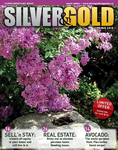Silver and Gold Magazine Spring 2015