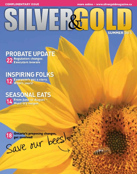 Silver and Gold Magazine Summer 2015