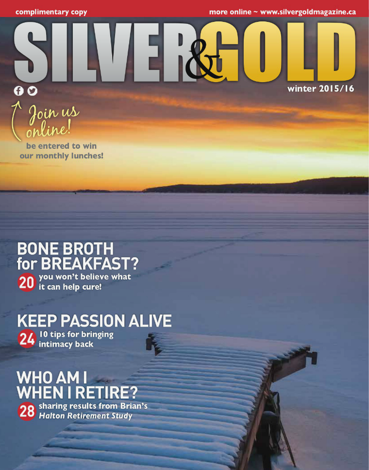 Silver and Gold Magazine Winter 2015
