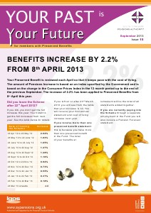 Your Past is Your Future September 2013 Issue 15