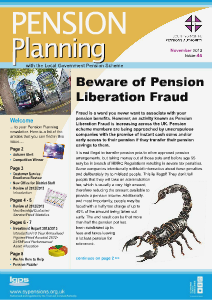 Pension Planning BUS FUND November 2013 Issue 45
