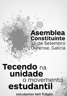 Documentos aprobados pola Asemblea Constituínte de Estudantes sen Futuro.