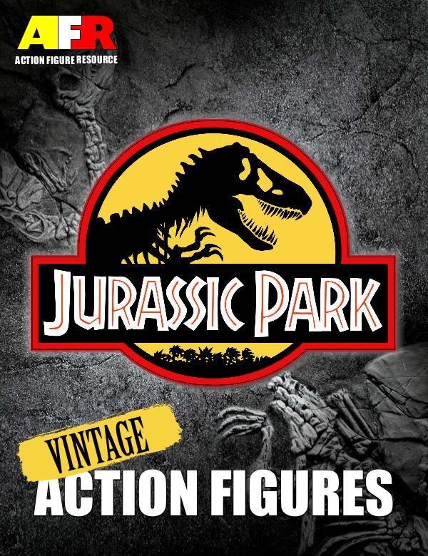 AFR Vintage Action Figure Guides Jurassic Park 1st Edition